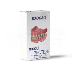 Modul Proteze totale pentru Exocad - Full Dentures