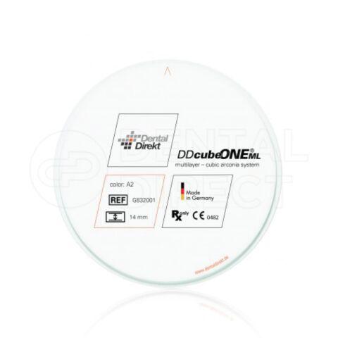 Disc zirconiu ultra translucent pentru sisteme CAD CAMA Dental Direkt Cube ONE ML - multilayer