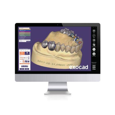 Exocad Dental CAD Basic - Software pentru design dentar destinat tehnicienilor si medicilor stomatologi