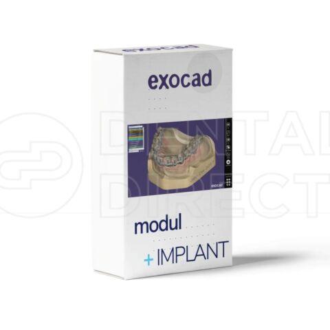 Modul implanturi pentru Exocad - punte toronto pe implant Thimble