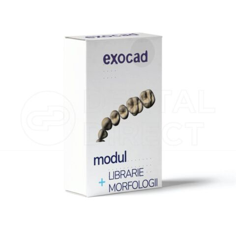 Modul Librariee dee morfologii pentru Exocad - Digital Smile Design