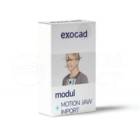 Modul Jaw Motion Import pentru Exocad