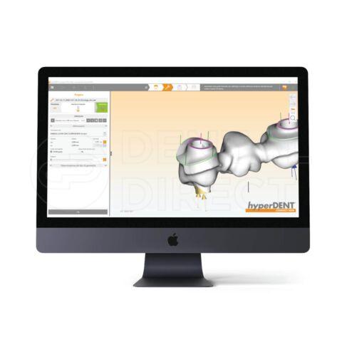 Software CAM hyperDENT DG Shape 5 axe