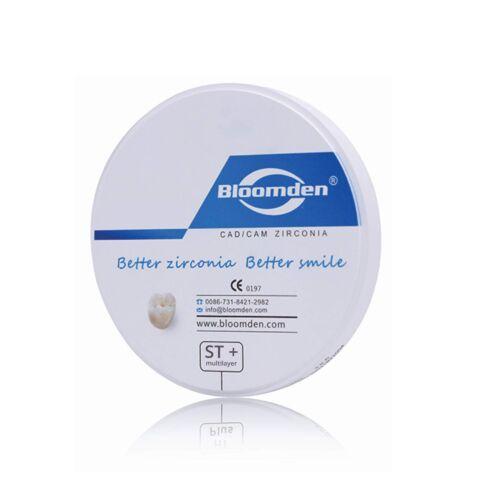 ST Pluis Multilayer - Disc zirconiu denar ultratranslucent multistrat pentru CAD CAM Bloomden