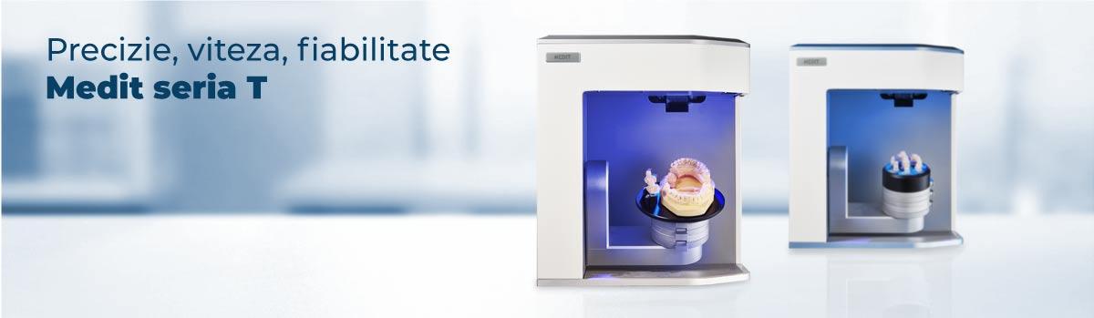 Scaner 3d laborator si clinica Medit T500